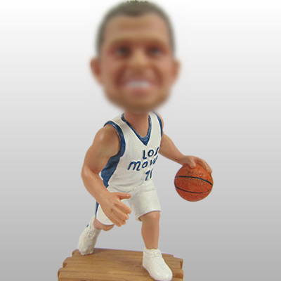 joueurs de basket-ball figurines