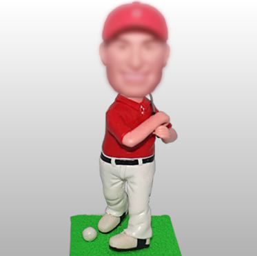 figurines de golf