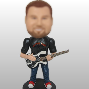 figurines guitariste