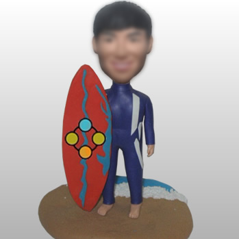 figurines de surf